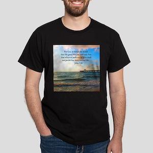 UPLIFTING JOHN 3:16 Dark T-Shirt
