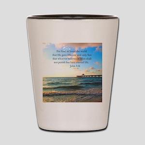UPLIFTING JOHN 3:16 Shot Glass