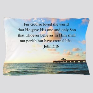 UPLIFTING JOHN 3:16 Pillow Case