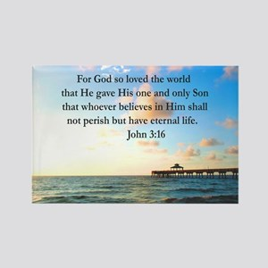 UPLIFTING JOHN 3:16 Rectangle Magnet