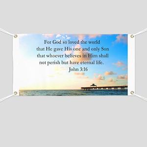 UPLIFTING JOHN 3:16 Banner