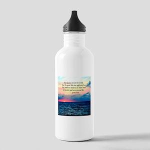UPLIFTING JOHN 3:16 Stainless Water Bottle 1.0L