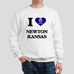 I love Newton Kansas Sweatshirt