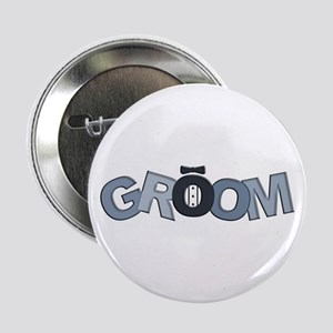 BP Letters Groom Button