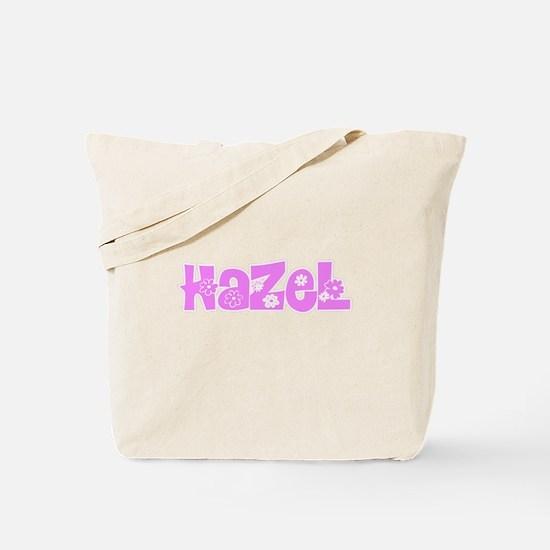 Hazel Flower Design Tote Bag