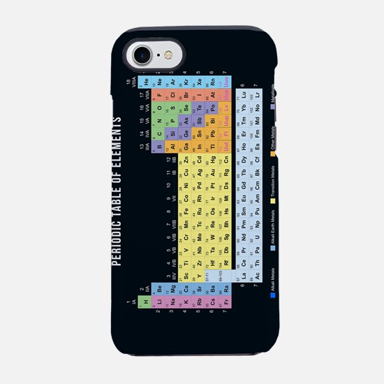 Periodic Table Of Elements iPhone 7 Tough Case
