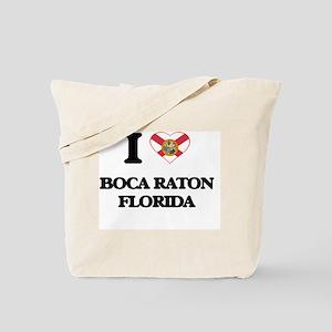 I love Boca Raton Florida Tote Bag