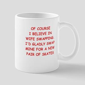 skating joke Mugs