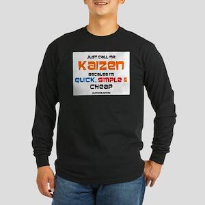 Kaizen Long Sleeve T-Shirt