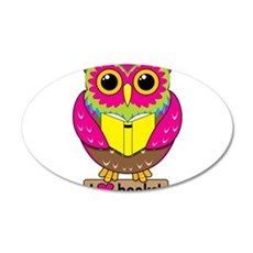 Owl Love Books Wall Decal