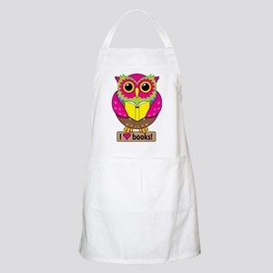 Owl Love Books Apron