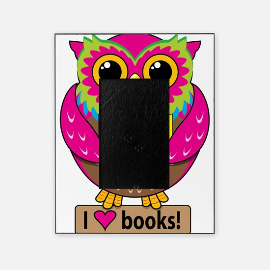 Owl Love Books Picture Frame