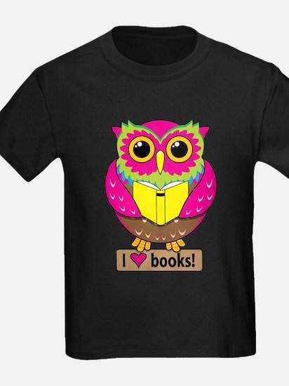 Owl Love Books T-Shirt
