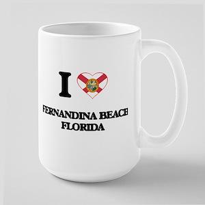 I love Fernandina Beach Florida Mugs