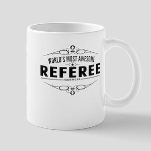 Worlds Most Awesome Referee Mugs