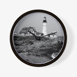 Portland Head Lighthouse Wall Clock