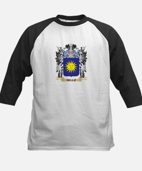Bello Coat of Arms - Family Crest Baseball Jersey