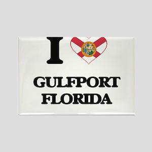 I love Gulfport Florida Magnets