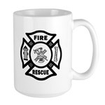 Fire Rescue Large Mug