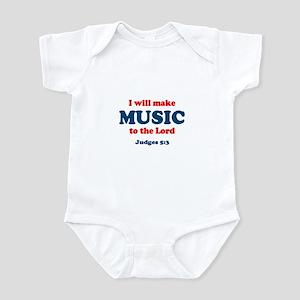 Judges 5:3 Infant Bodysuit