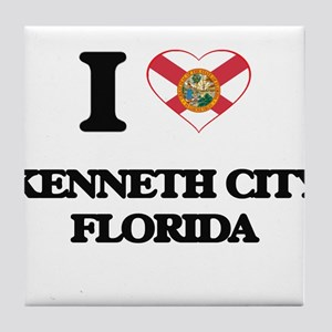 I love Kenneth City Florida Tile Coaster