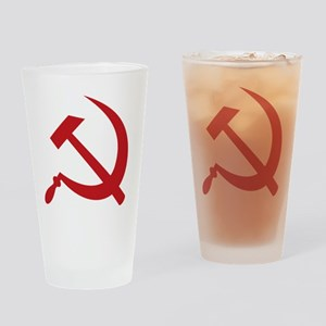 Hammer_and_sickle Drinking Glass