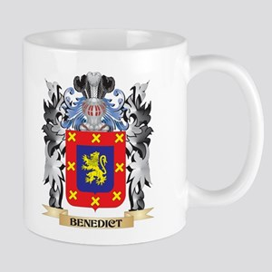 Benedict Coat of Arms - Family Crest Mugs
