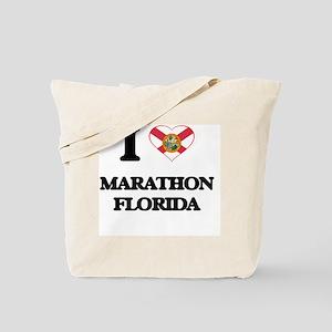 I love Marathon Florida Tote Bag