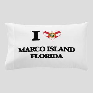 I love Marco Island Florida Pillow Case