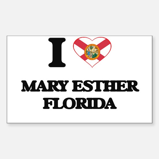 I love Mary Esther Florida Decal