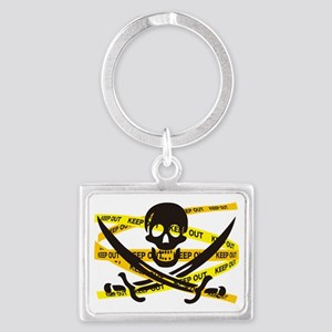 PIRATE_FLAG Landscape Keychain