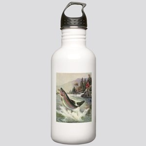 Vintage Fishing, Rainb Stainless Water Bottle 1.0L