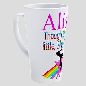 FIERCE GYMNAST 17 oz Latte Mug