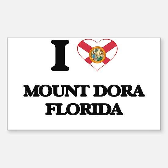 I love Mount Dora Florida Decal