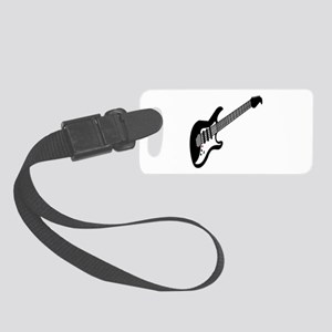 Cool Guitar Small Luggage Tag