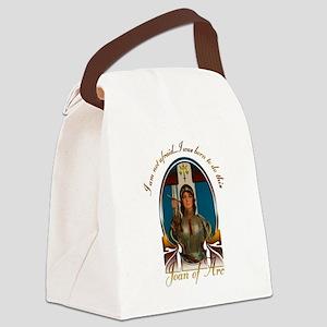 Joan of Arc Nouveau Canvas Lunch Bag