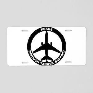 KC-10 Extender Aluminum License Plate