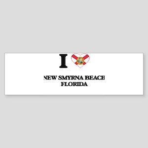 I love New Smyrna Beach Florida Bumper Sticker