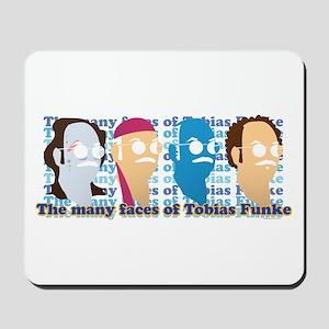 Many Faces of Tobias Mousepad