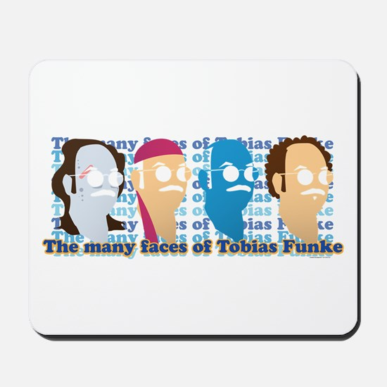 Many Faces of Tobias Mousepad
