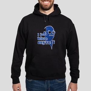 I Blue Myself Hoodie (dark)