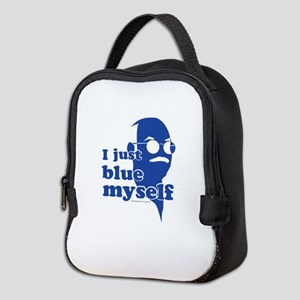 I Blue Myself Neoprene Lunch Bag