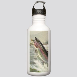 Vintage Rainbow Trout Stainless Water Bottle 1.0L