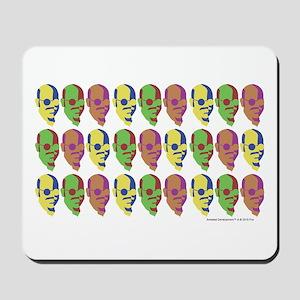 Tobias Multicolored Face Mousepad