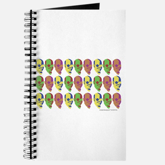 Tobias Multicolored Face Journal