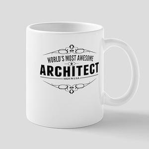 Worlds Most Awesome Architect Mugs