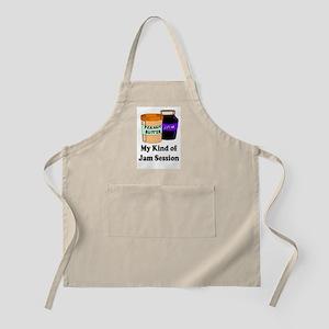 MY KIND OF JAM SESSION.  PB&J Apron