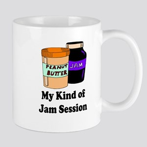 MY KIND OF JAM SESSION. PB&J Mugs