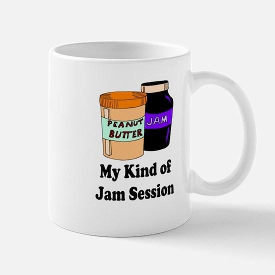MY KIND OF JAM SESSION. PB&J Mugs