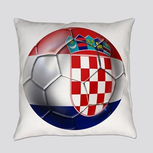 Croatian Football Everyday Pillow